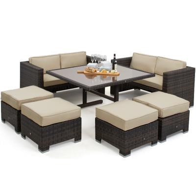 Dominico Sofa Cube Dining Set