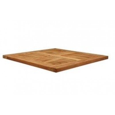 Solid Teak Outdoor Square Top