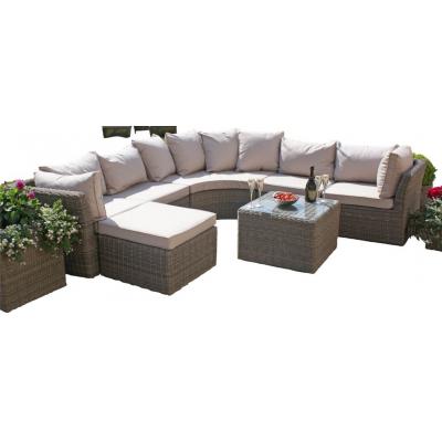 Marvelo Round Outdoor Corner Sofa Group