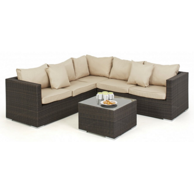 Valaria Outdoor Corner Sofa Group