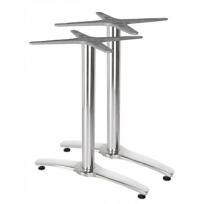 Lulu Twin Leg Aluminium Table Base