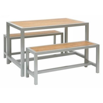 Pierson Table Set with Benches