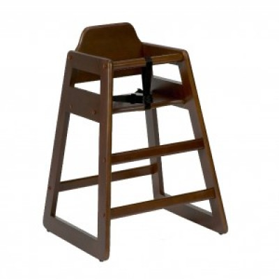 Lima Walnut Childrens High Chair