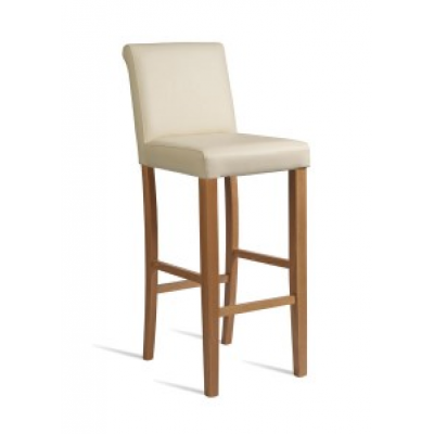 Poppy Faux Leather High Stool