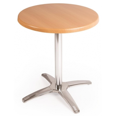 Round Beech Top and Base Combo