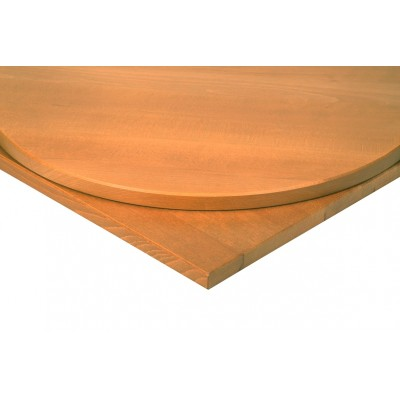 Solid Wood Round Oak Top