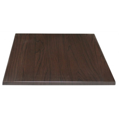Walnut Square Laminate Top (Pre-drilled)