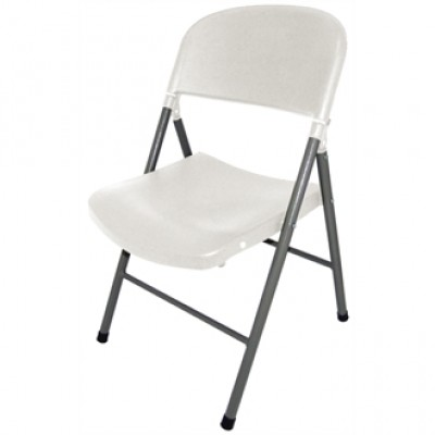 White Foldaway Utility Chair