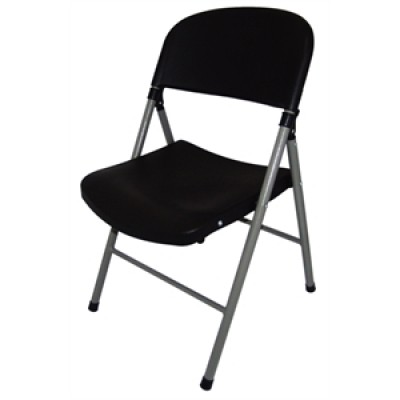 Black Foldaway Utility Chair