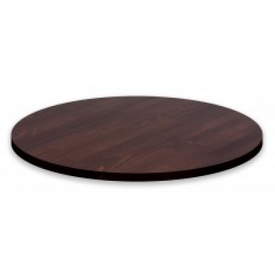 Solid Wood Walnut Round Table Top