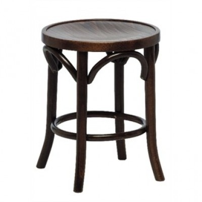 Bentwood Low Bar Stool