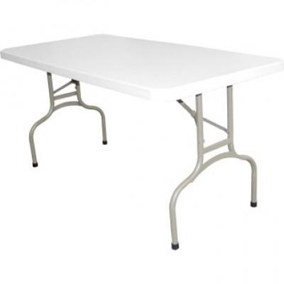 White Foldaway Utility Table