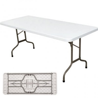 Duxford Folding Indoor or Outdoor Rectangular Table