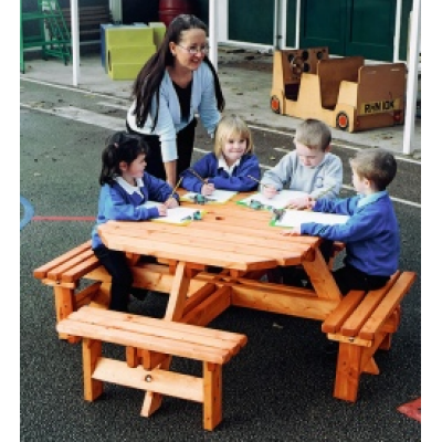 Junior Heavy Duty 8 Seater Picnic Bench
