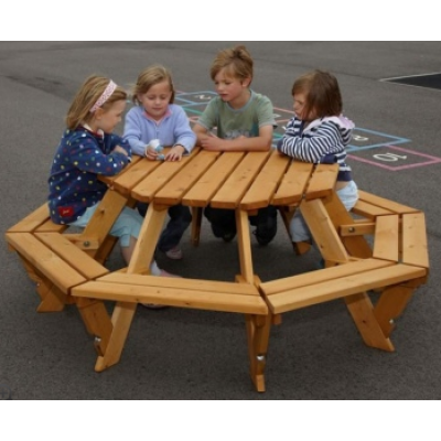 Timber Eight Seater Infant Picnic Bench