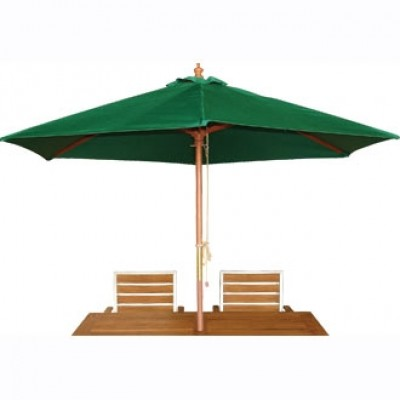 Green 3m Round Parasol
