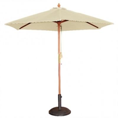 Cream 3m Round Parasol