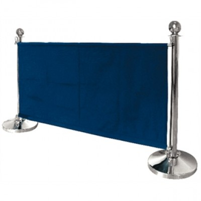 Dark Blue Canvas Barrier 1430mm Wide