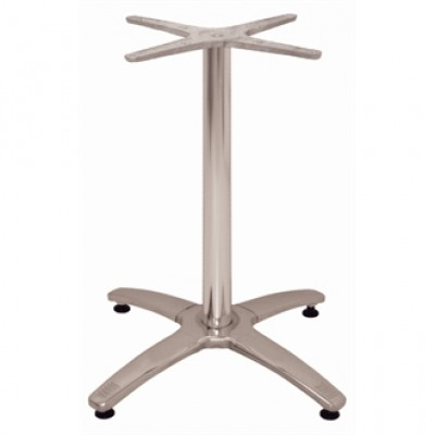Lulu 4 Leg Aluminium Table Base