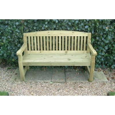 3 Seat Outdoor Bench