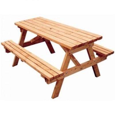 8 Seat Rectangular Picnic Bench