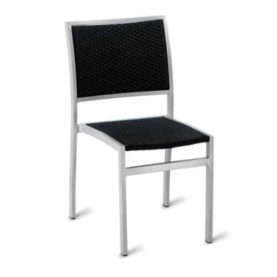 Campos Outdoor Black Weave Chair