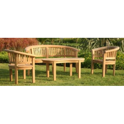 Outdoor Bench Set