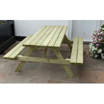 6 or 8 Seat All Weather A-Frame Picnic Table