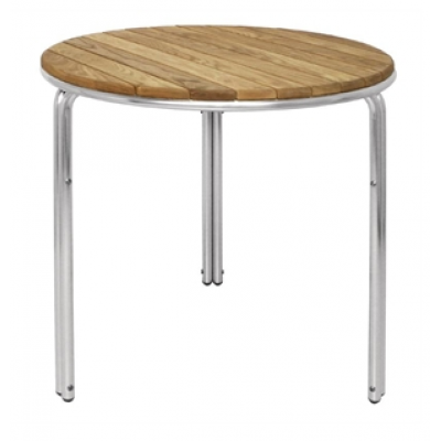 Abbotswood Stacking Round Ash Cafe Table