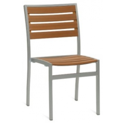 Bristol Outdoor Faux Wood Cafe Chair