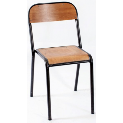Columbus Industrial Stacking Bistro Chair