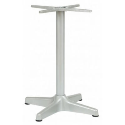 Webster Outdoor Silver Coated Table Base