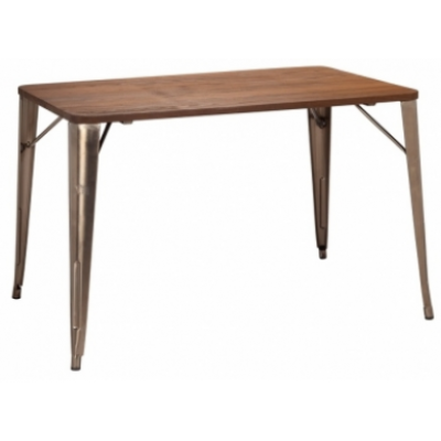 Colmar Industrial Style Bistro Table