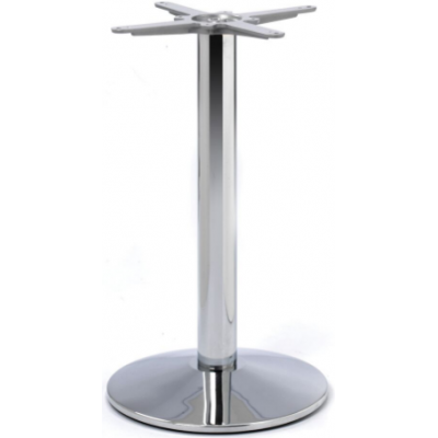 Dome Style Chrome Dining Base
