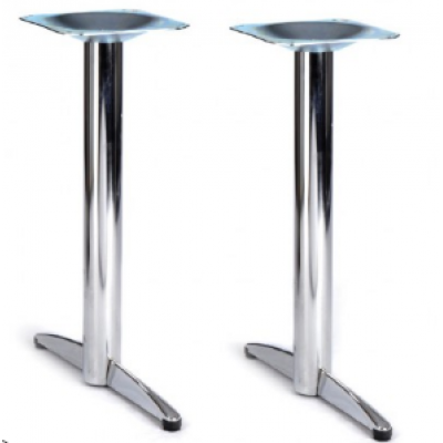 Preston Chrome Twin Dining Base