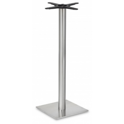 Square Stainless Steel Poseur Base