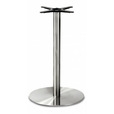 Stainless Steel Large Round Poseur Base