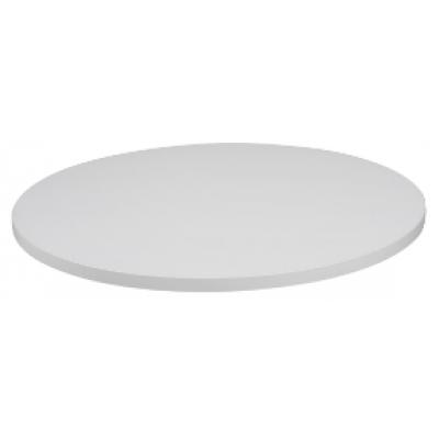 White Round Laminate Table Top