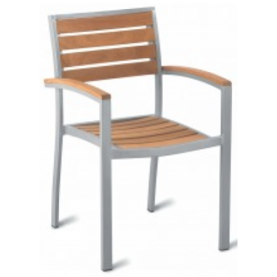 Altea Teak Outdoor Restaurant Armchair