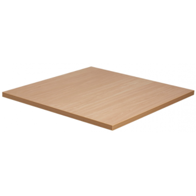 Beech Effect Square Laminate Top
