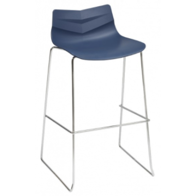 Warner Skid Frame High Stool