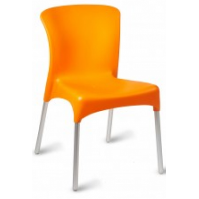 Chris Indoor or Outdoor Plastic Cafe Chair