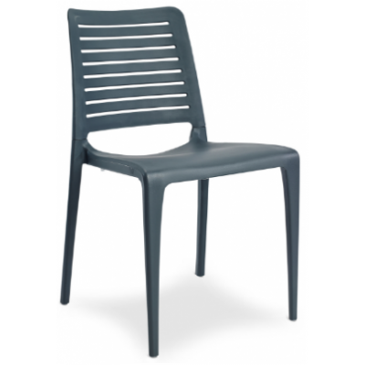 Petra Polypropylene Indoor or Outdoor Cafe Chair