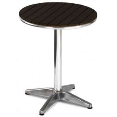 Pico Wood Effect Outdoor Cafe Table