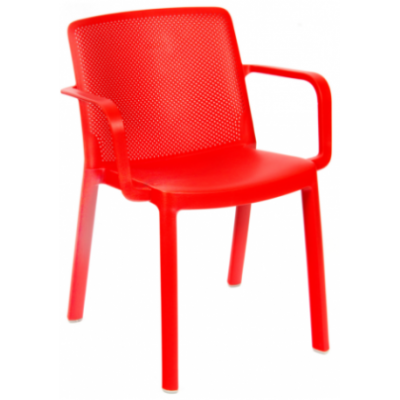 Sax Polypropylene Outdoor Cafe Armchair