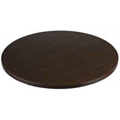 Walnut Laminate Round Top