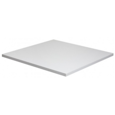White Square Laminate Table Top