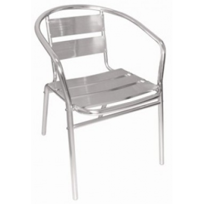 Earlston Aluminium Stacking Armchair