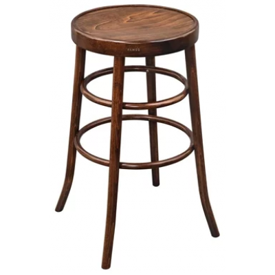 Dales Bentwood Walnut High Bar Stool
