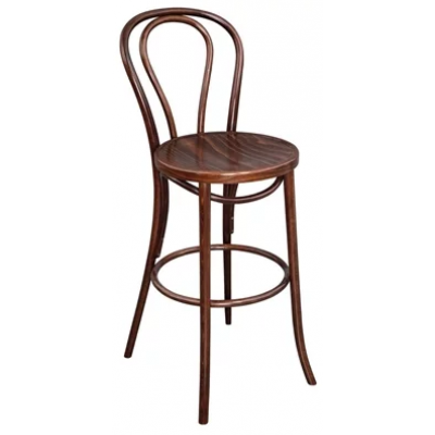Pendle Bentwood Walnut Bistro High Stool